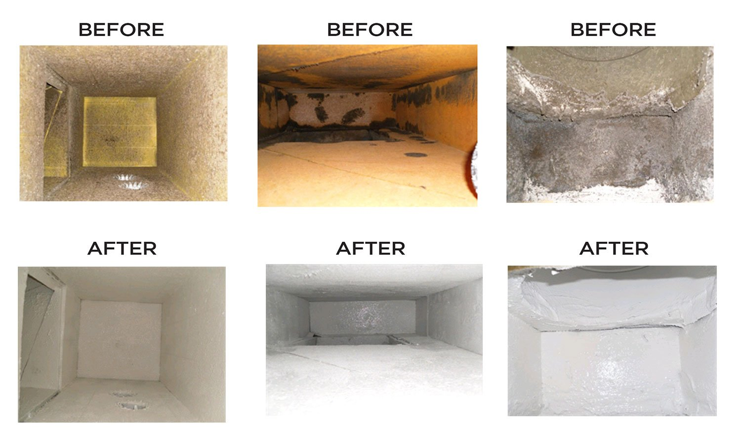 ATC Air Duct Before & After