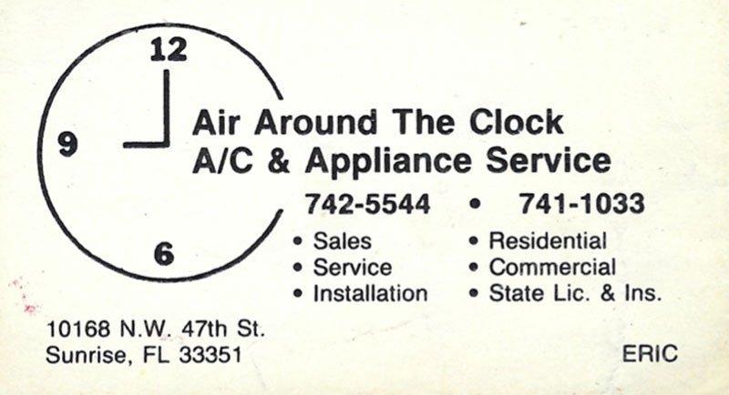 ATC Business Card - Eric